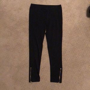 Calvin Klein black leggings size medium